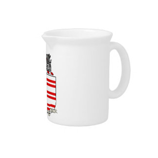 Barry Coat of Arms Beverage Pitcher