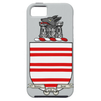 Barry Coat of Arms iPhone 5 Case