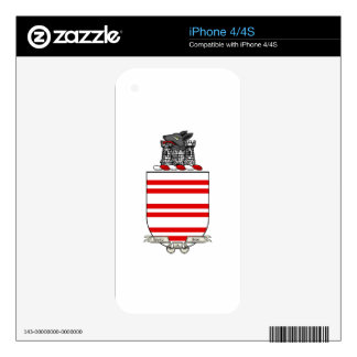 Barry Coat of Arms Skin For The iPhone 4S
