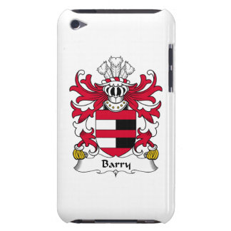 Barry Family Crest Case-Mate iPod Touch Case