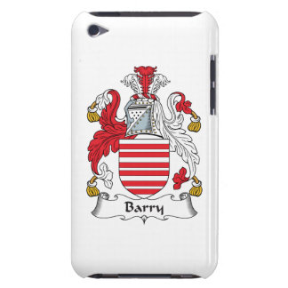 Barry Family Crest iPod Case-Mate Cases