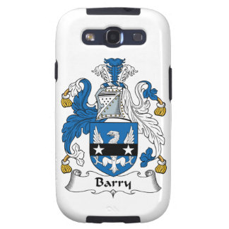 Barry Family Crest Galaxy S3 Cases