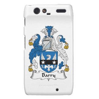 Barry Family Crest Motorola Droid RAZR Case