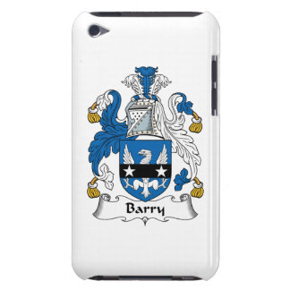 Barry Family Crest Barely There iPod Case
