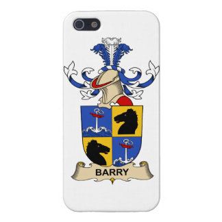 Barry Family Crests iPhone 5 Case