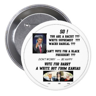 BARRY FROM KANSAS PINBACK BUTTON