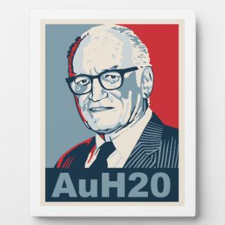 Barry Goldwater Placas De Plastico