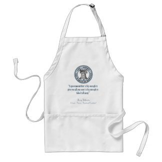 Barry Goldwater Quote (Big Government) Adult Apron