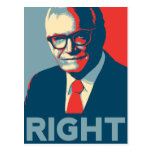 Barry Goldwater Right Postcards