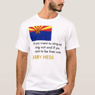 Barry Hess Sing Out T-Shirt
