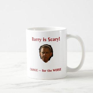 Barry is Scary! mug