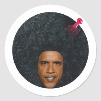 Barry Is The Coolest President Ever Sticker