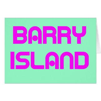 Barry Island2 Tarjeta De Felicitación