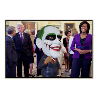 barry obama and friends posters