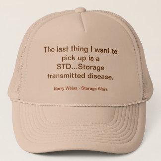 Barry Weiss STD Cap- Storage Wars Trucker Hat