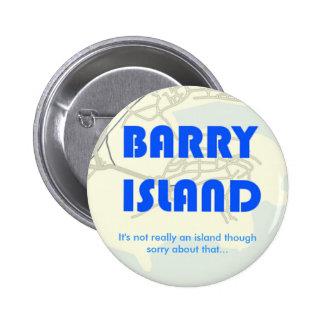BarryBadge Pinback Button