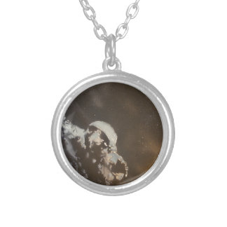 BarryBoem art Round Pendant Necklace