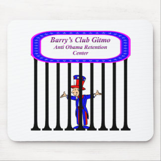 Barry's Club Gitmo Mouse Pad