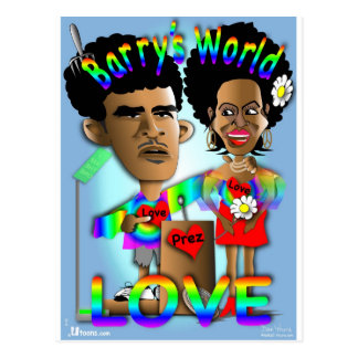 Barry's World Postcard