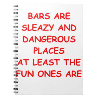 BARS NOTE BOOK