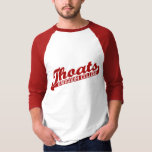 Barsoom College Thoats Carter Raglan T-shirt