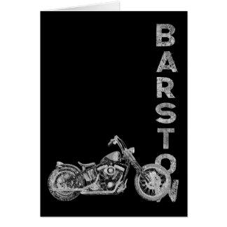 Barstow Card