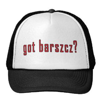 ¿barszcz conseguido? gorra