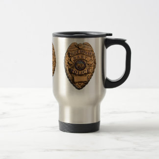 BART PD SHIELD TRAVEL MUG