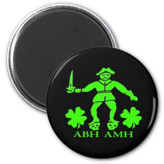 Bart Roberts #1-Shamrock 2 Inch Round Magnet
