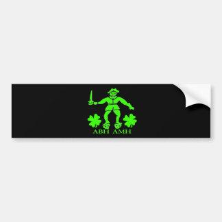 Bart Roberts #1-Shamrock Bumper Sticker