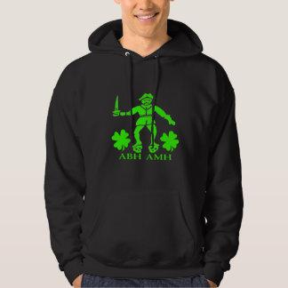 Bart Roberts #1-Shamrock Hooded Sweatshirt