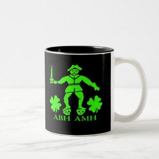 Bart Roberts #1-Shamrock Two-Tone Coffee Mug