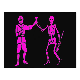 Bart Roberts #2-Pink 4.25x5.5 Paper Invitation Card