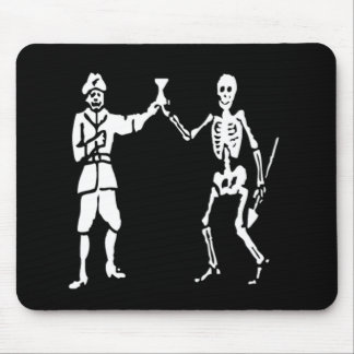 Bart Roberts #2-White Mouse Pad