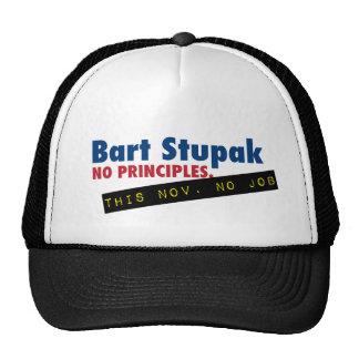 Bart Stupak - No Principles, No Job. Trucker Hat
