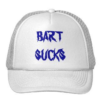 BART SUCKS - CAP TRUCKER HAT