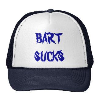 BART SUCKS- CAP TRUCKER HAT