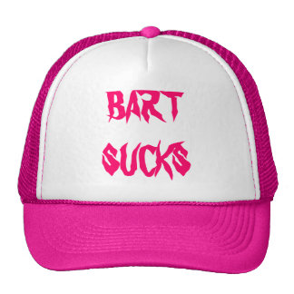 BART SUCKS - CAP MESH HAT