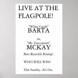Barta vs. McKay Poster