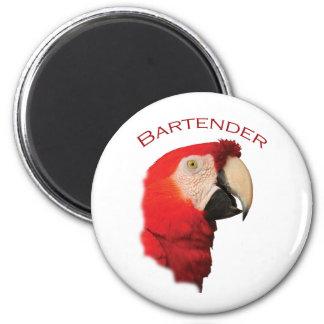 Bartender 2 Inch Round Magnet