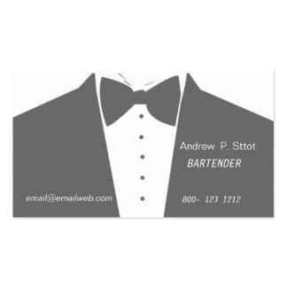 Bartender   Banquet Services Double-Sided Standard Business Cards (Pack Of 100)