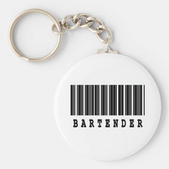bartender barcode design keychain