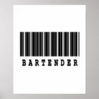 bartender barcode design poster