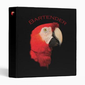 Bartender Binder
