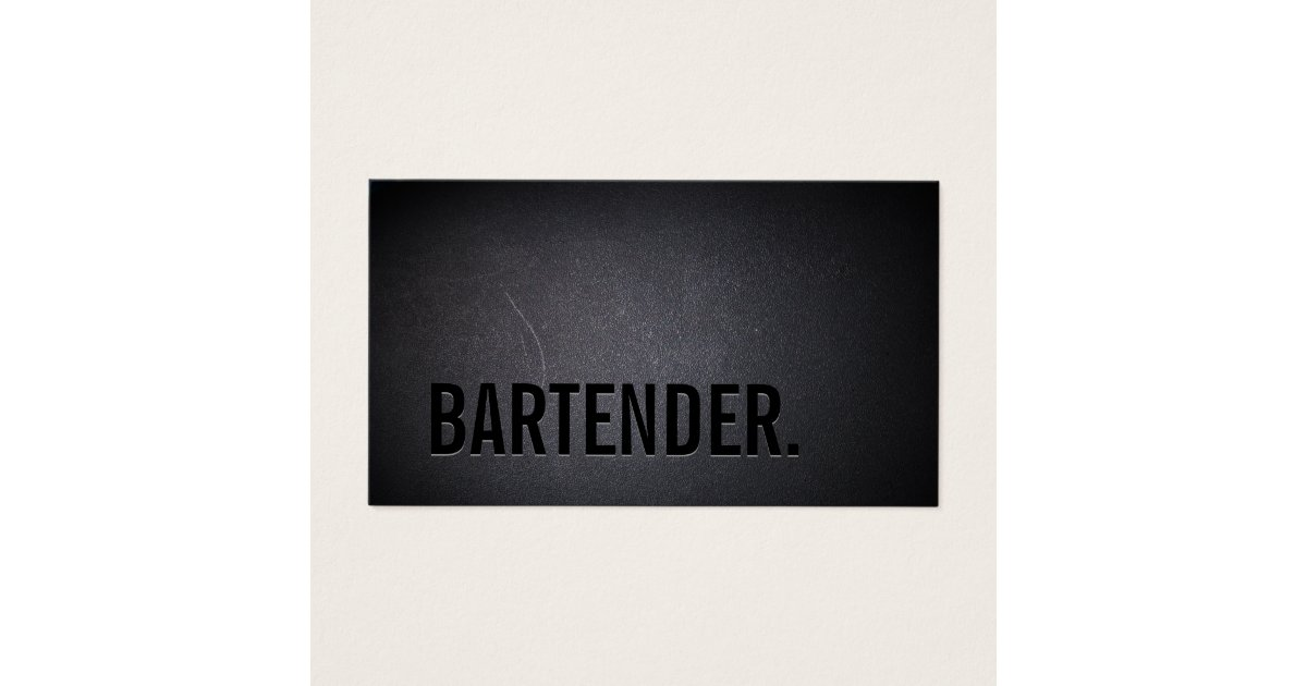 Zazzle Bartender Business Cards Choice Image - Card Design And ...