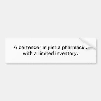 Bartender Bumper Sticker