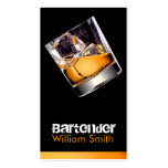 Bartender Double-Sided Standard Business Cards (Pack Of 100)