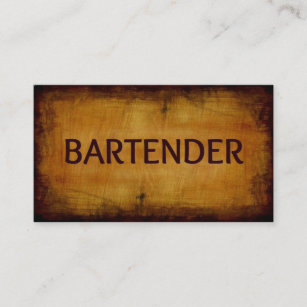 Bartender business cards templates zazzle bartender business card colourmoves