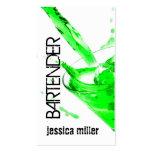 Bartender Business Card