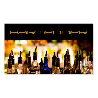 Bartender Business Card Standard Business Cards
